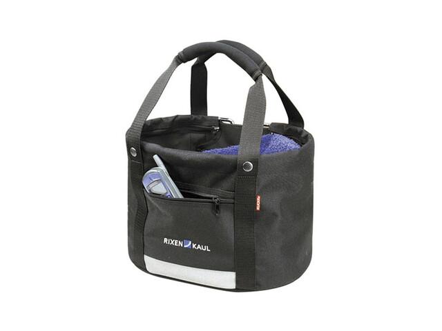 KlickFix Shopper Comfort Cykeltaske Mini sort